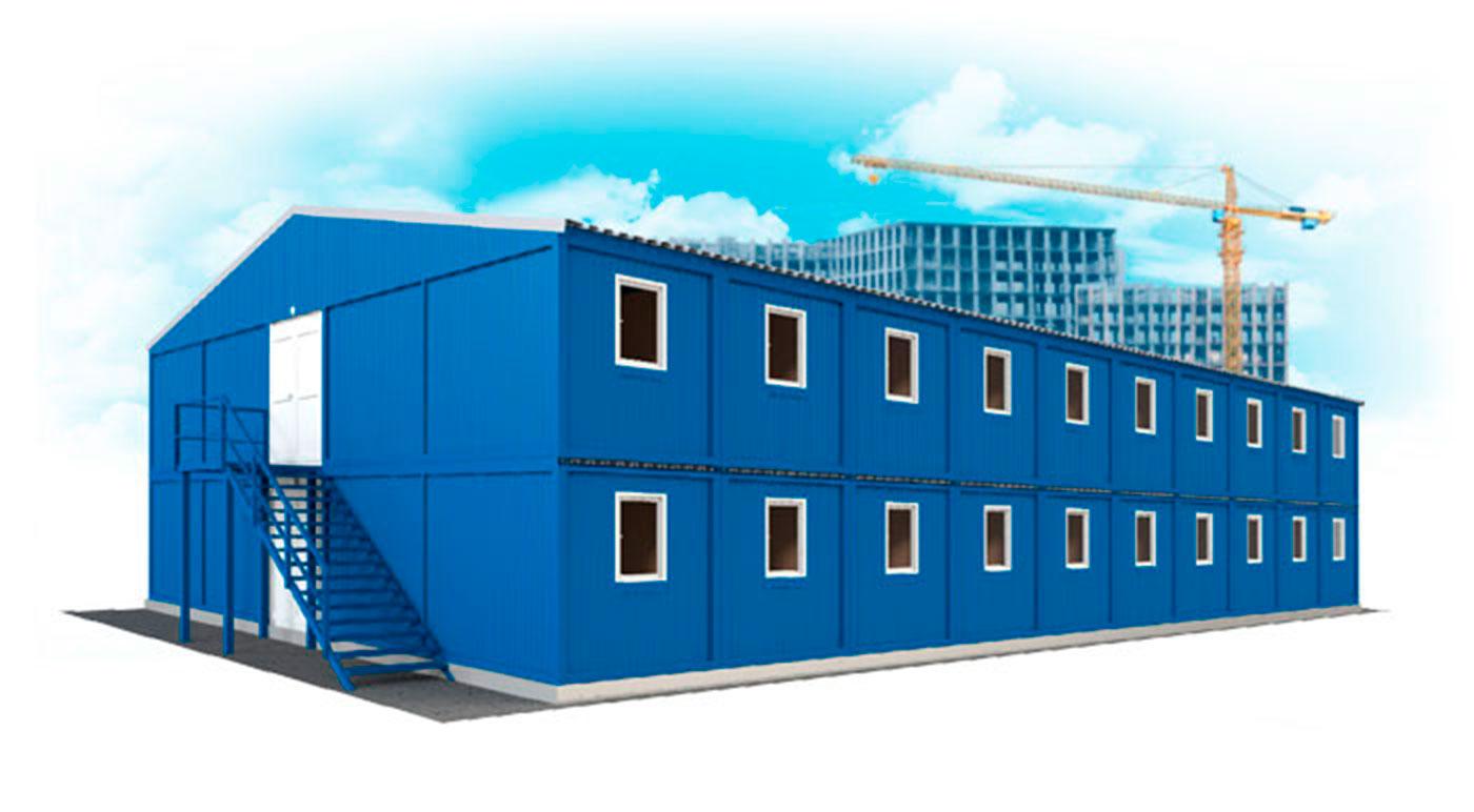 фото модульные здания